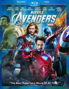 The Avengers (Blu-ray/DVD, 2012, 2-Disc ...
