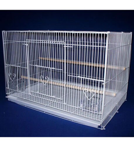 Aviary Breeding Flight Cage / Bird Small 24x16x16, White Color in Pet Supplies, Bird Supplies, Cages | eBay