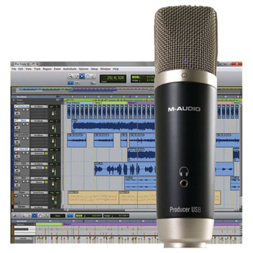 Avid Vocal Studio - M-Audio Producer USB Recording Mic w/ Pro Tools SE in Musical Instruments & Gear, Pro Audio Equipment, Computer Recording Interfaces | eBay