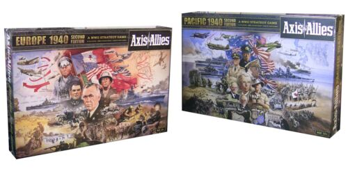 Axis & Allies: Europe 1940 and Pacific 1940 2nd Edition board game combo in Toys & Hobbies, Games, Board & Traditional Games | eBay