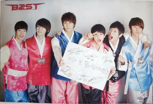 Silk Outfitsquot; Asian Poster South Korean Boy Band Beast K Pop  eBay