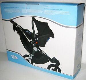 baby jogger chicco car seat adapter for single stroller baby infant kit holder ebay. Black Bedroom Furniture Sets. Home Design Ideas