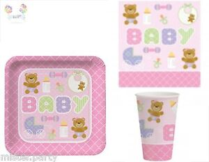 babyshower partydeko teddy geburt pullerparty babyparty