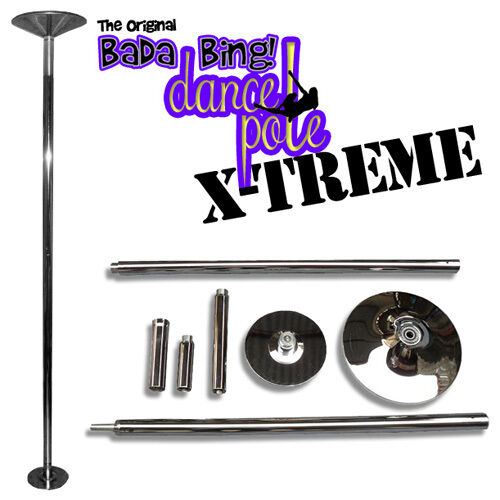 BADA BING X-TREME PORTABLE STRIPPER POLE - EXERCISE DANCE X STRIP - TOP QUALITY in Sporting Goods, Exercise & Fitness, Gym, Workout & Yoga | eBay