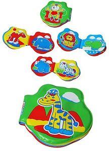 BADEBUCH-mit-Quitscher-Spielzeug-Baby-Badespielzeug-Dschungel-Tiere-862-NEU