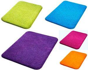badteppich 5 farben zur wahl 50x80 cm badvorleger. Black Bedroom Furniture Sets. Home Design Ideas