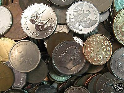 **BAG / LOT ALL DIFFERENT FOREIGN WORLD COINS**BONUS** in Coins & Paper Money, Coins: World, Collections, Lots | eBay