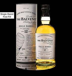 Balvenie 12 Year Old Single Barrel - First Fill Whisky