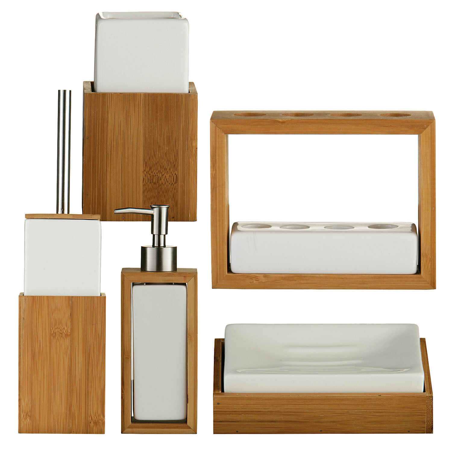 white bathroom accessories uk wood bathroom accessories crowdbuild for - Wooden Bathroom Accessories Uk