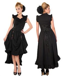 Details zu BANNED Kleid Steampunk Lolita Gothic Lace Dress spitze ...