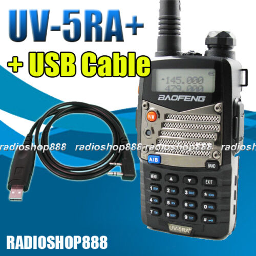BAOFENG Dual band radio UV-5RA Plus VHF/UHF 136-174 / 400-480 UV-5R + USB Cable in Consumer Electronics, Radio Communication, Ham, Amateur Radio | eBay