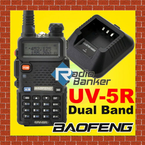 BAOFENG NEW Model UV-5R Dual Band UHF/VHF Radio + free earpiece in Consumer Electronics, Radio Communication, Ham, Amateur Radio | eBay