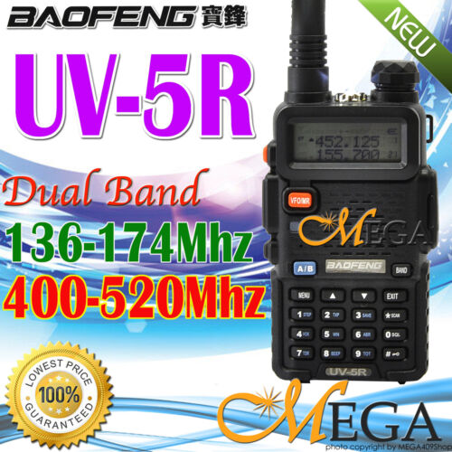 BAOFENG UV-5R UU 136-174/400-520Mhz Dual Band UHF/VHF Radio in Consumer Electronics, Radio Communication, Walkie Talkies, Two-Way Radios | eBay
