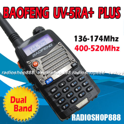BAOFENG UV-5RA+ Plus Dual Band U/V Radio 136-174 / 400-520Mhz handheld UV5R in Consumer Electronics, Radio Communication, Ham, Amateur Radio | eBay