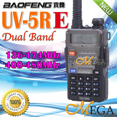 BAOFENG UV-5RE New Version Dual Band U/V Radio in Consumer Electronics, Radio Communication, Walkie Talkies, Two-Way Radios | eBay