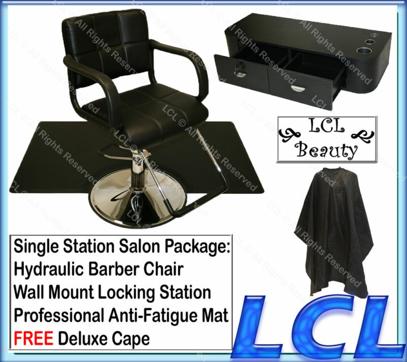 Barber Chair Styling Station Mat Beauty Salon Equipment