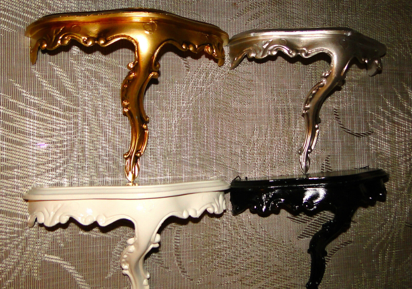 barock wandspiegel spiegel konsole 23 5x18x 10 antik gold regale mini ebay. Black Bedroom Furniture Sets. Home Design Ideas