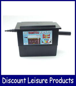 Basic mega filter black box koi fish pond filter system for Koi pond basics