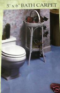 BATHROOM CARPET BATH CARPET RUGS CUT TO FIT 4 COLORS