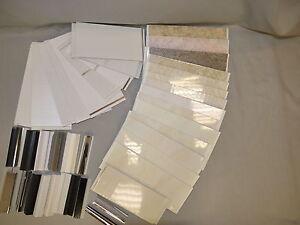 BATHROOM PVC WALL & CEILING CLADDING PLASTIC PANELS SAMPLE ...