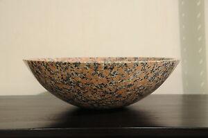 Stone Bathroom Sink Bowls : BATHROOM VANITY GRANITE STONE SINK BOWL SINK VESSEL SINK BASIN AD562 ...