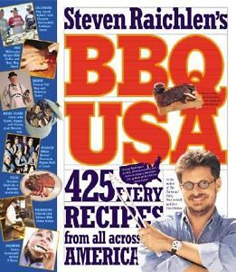 BBQ USA : 425 Fiery Recipes from All Acr...