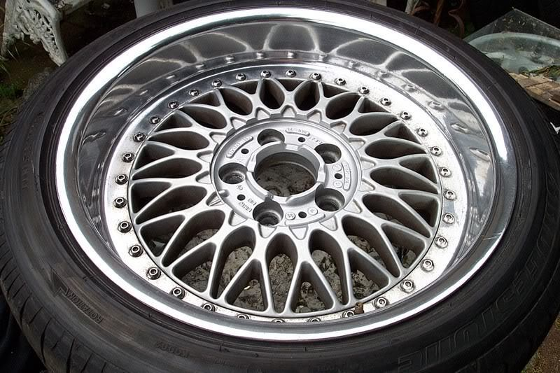 BBS BMW Style 5 Split Rim stainless steel wheel rim bolt rebuild kit