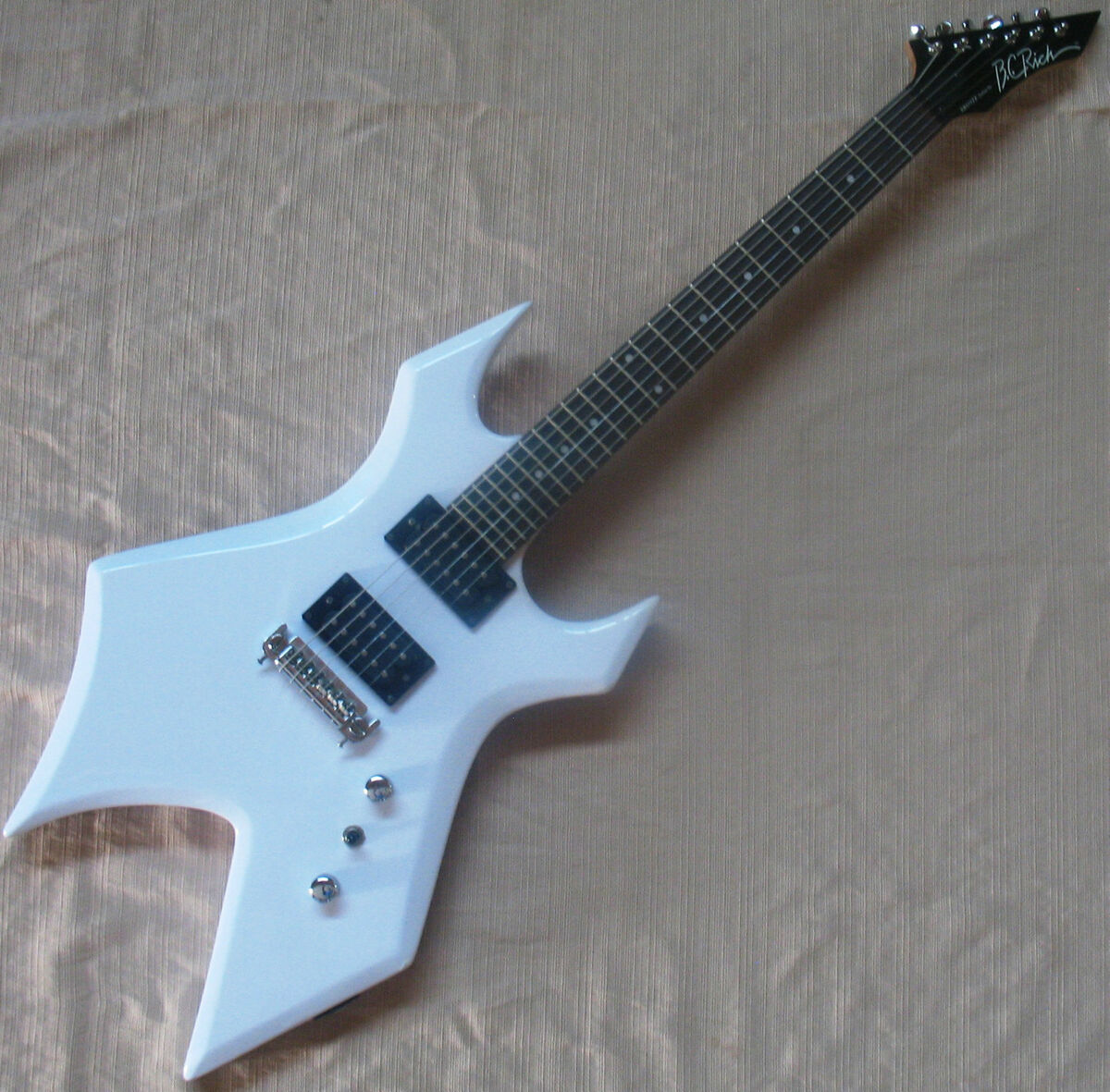 rich bronze series warlock electric guitar b c white ernie ball string. Black Bedroom Furniture Sets. Home Design Ideas