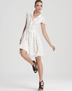 Bcbg Dress on Bcbg Max Azria White Lace Kiran Shirt Dress 10   Ebay