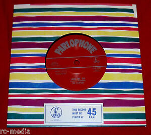 BEATLES-Love-Me-Do-UK-50th-Anniversary-Vinyl-7-Withdrawn-Mispress-Recalled