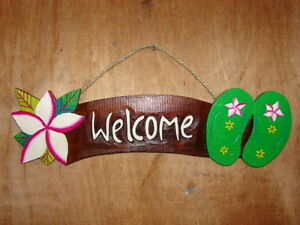 Welcome sign stock photo. Image of flower, present, bloom ...