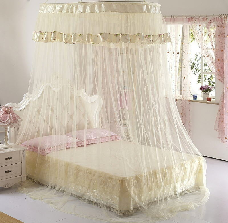 Bed Canopy With Lights