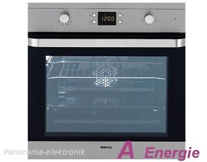 beko einbau backofen herd autark umluft grill timer 8 pr neu ovp einbauherd ofen ebay. Black Bedroom Furniture Sets. Home Design Ideas
