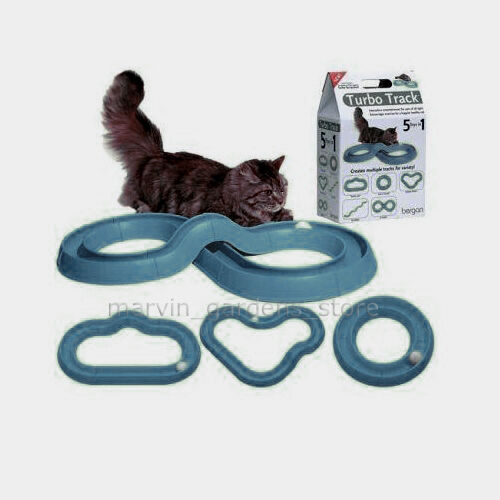 BERGAN TURBO TRACK CAT TOY 5 TOY SHAPES IN 1 in Pet Supplies, Cat Supplies, Toys | eBay