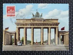 BERLIN MK 1966 288 BRANDENBURGER TOR MAXIMUMKARTE CARTE MAXIMUM CARD MC CM c5280 - Deutschland - Widerrufsbelehrung & Widerrufsformular Verbrauchern steht ein Widerrufsrecht nach folgender Maßgabe zu, wobei Verbraucher jede natürliche Person ist, die ein Rechtsgeschäft zu Zwecken abschließt, die überwiegend weder ihrer gewerblichen - Deutschland