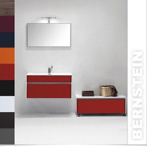 Bernstein badm bel set s serie waschbecken unterschrank for Ebay badmobel set