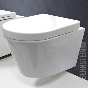 bernstein luxus wand h nge wc toilette softclose ch1088 ebay. Black Bedroom Furniture Sets. Home Design Ideas