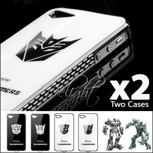 BEST OF BEST - Superior Transformer iPhone 4 4s Phone Case Cover A051D White DC