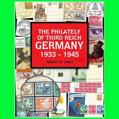 """BEST STAMP CATALOG-""""The Philately of Third Reich Germany 1933-1945"""", English in Stamps, Europe, Germany & Area 