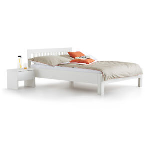 bett como weiss 120x200 cm holzbett kinderbett jugendbett neu ebay. Black Bedroom Furniture Sets. Home Design Ideas