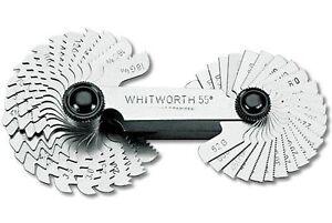 bgs gewindeschablonen 52 blatt metrisch whitworth gewindelehre gewinde messen ebay. Black Bedroom Furniture Sets. Home Design Ideas