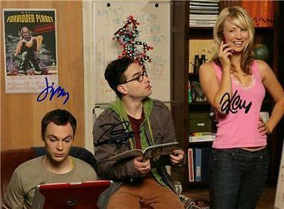 BIG BANG THEORY CAST SIGNED PHOTO 8X10 RP KALEY CUOCO in Entertainment Memorabilia, Autographs-Reprints, Music | eBay