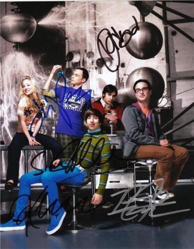 BIG BANG THEORY FULL CAST SIGNED PHOTO 8X10 RP AUTOGRAPHED JIM PARSONS CUOCO + in Sports Mem, Cards & Fan Shop, Autographs-Reprints | eBay