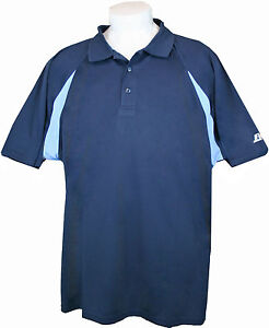 BIG-MENS-NEW-RUSSELL-5X-DRI-POWER-POLO-SHIRT-5XL-NAVY-LIGHT-BLUE-PIECED