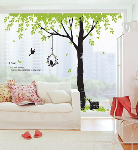 BIG TREE Home Decor Vinyl Wall Art Decal DIY Stickers