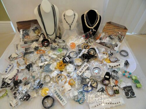 BIG WHOLESALE MIXED LOT 11 NEW FASHION JEWELRY NECKLACES EARRINGS BRACELETS in Jewelry & Watches, Wholesale Lots, Mixed Jewelry Lots | eBay