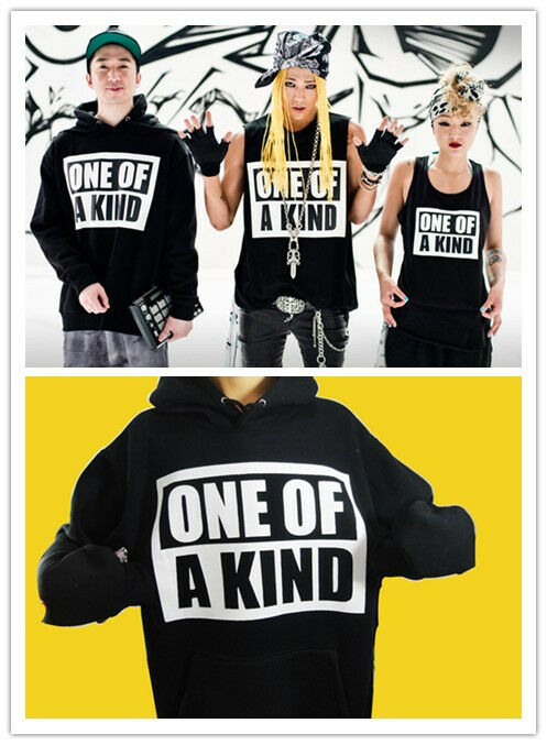 BIGBANG Big Bang G Dragon GD One of A Kind Fan Hoodie KPOP New