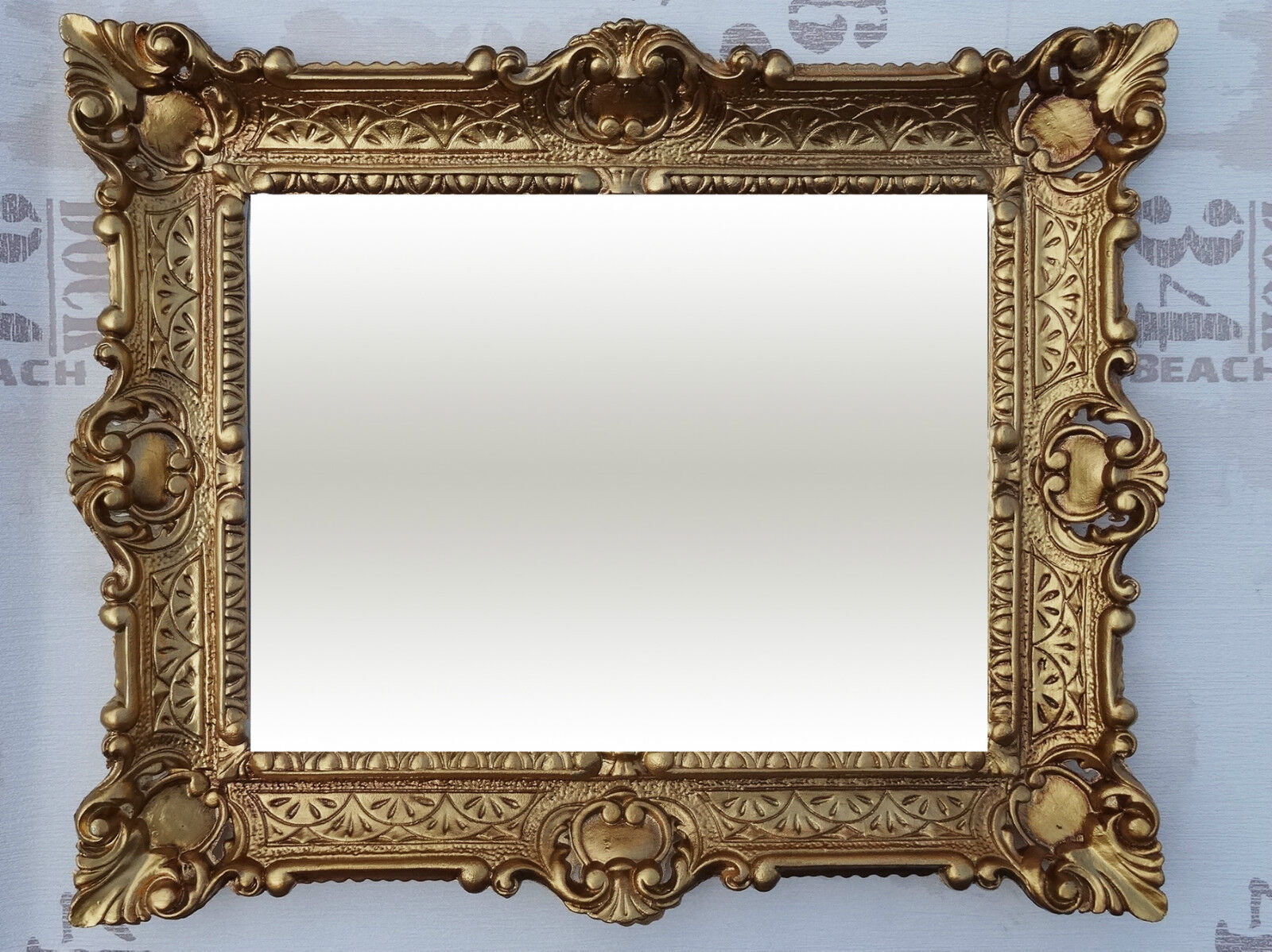 antik barock bilderrahmen gold 56x46 rechteckig repro. Black Bedroom Furniture Sets. Home Design Ideas