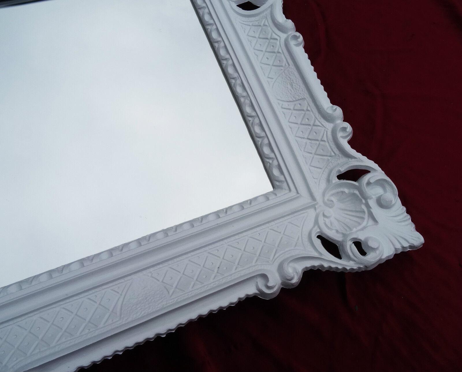 Cornice foto quadro bianca riproduzione antica barocco for Cornice bianca foto