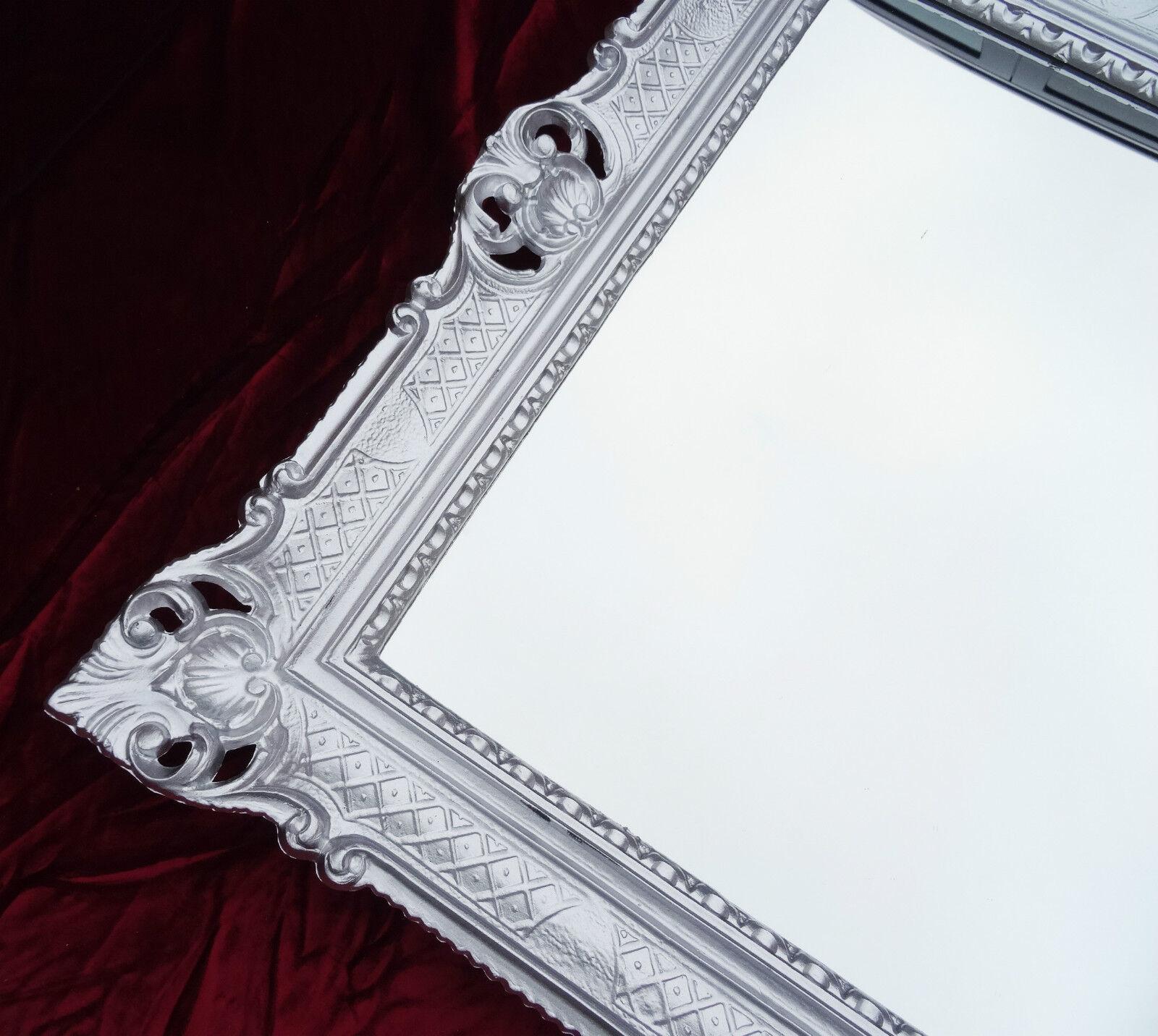 Bilderrahmen silber repro antik barock rokoko fotorahmen for Couchtisch 90x70